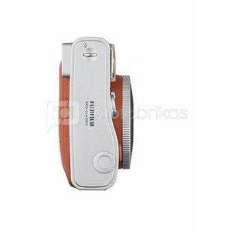 Fujifilm Instax Mini 90 Neo Classic (Rudas) + 10 Fotoplokštelių