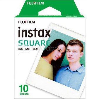 Fujifilm Fotoplokštelės Instax SQUARE 10vnt.