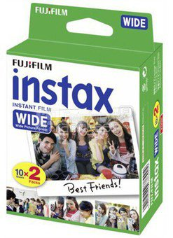 Fujifilm Fotoplokštelės Instax WIDE 20vnt.