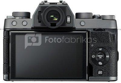 Fujifilm X-T100 (Tamsi sidabro)