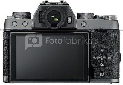 Fujifilm X-T100 + 15-45mm XC (Tamsi sidabro)