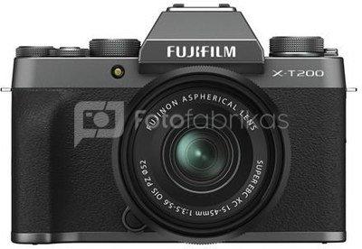 Fujifilm X-T200 + 15-45mm (Dark silver)