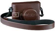Fujifilm X100T black + X series Case brown