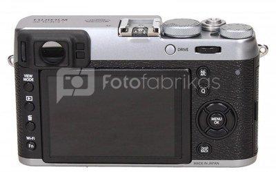 Fujifilm X100T silver + X series Case brown