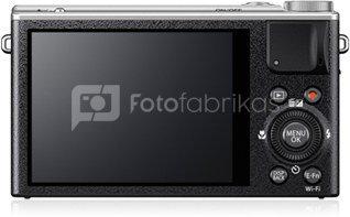 "Fujifilm XQ2 Silver/ 12.0 megapixels/ 4x optical zoom/ 3.0"" LCD/ X-Trans™CMOS II & EXR Processor II/ Fast aperture of F1.8/ macro shots from as close as 3cm/ Media: SD / SDHC / SDXC(UHS-I) memory card/ USB, Li-Ion batt."