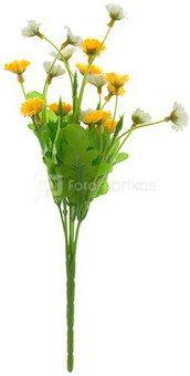 Gėlių puokštelė (6) 30 cm 2 spalvos YM1478 zzz