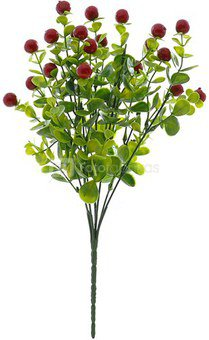 Gėlių puokštelė su uogom 36 cm (7) YM1470