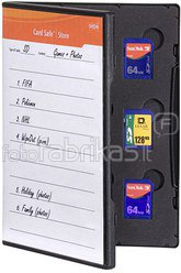 Gepe Card Safe Store SD black 3010