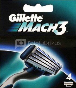Gillette razor blades Mach3 4pcs