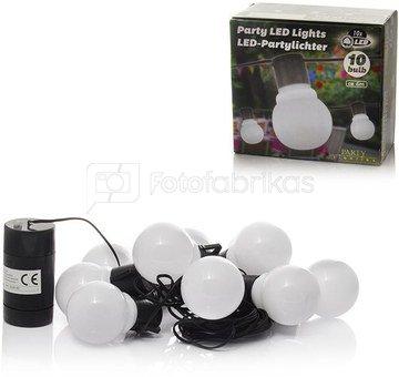Girlianda kiemui10 baltų Led lempučių 6 m. su 4 AA elementais 871125288031