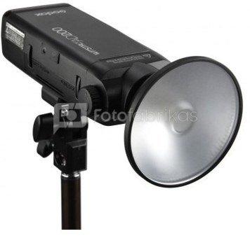 Godox AD200 AD-M mini reflektorius AD200 blykstei