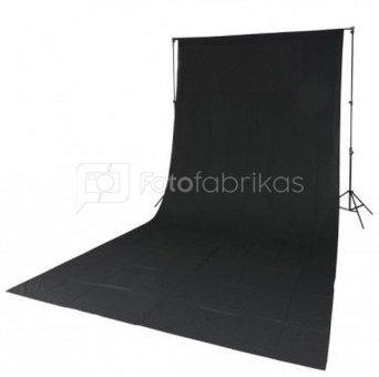 Godox Quadralite Black Solid Muslin Backdrop 2,85x6m