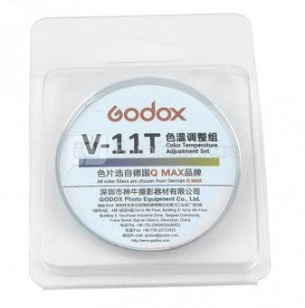 Godox Spalvinės temperatūros filtrų rinkinys V-11T