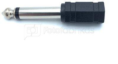 Godox Sync Socket Adapter Convert 3.5mm to 6.35mm