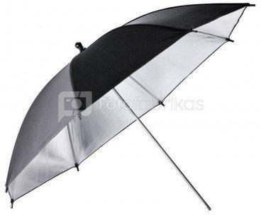 Godox UB-002 Black and Silver Umbrella 84cm