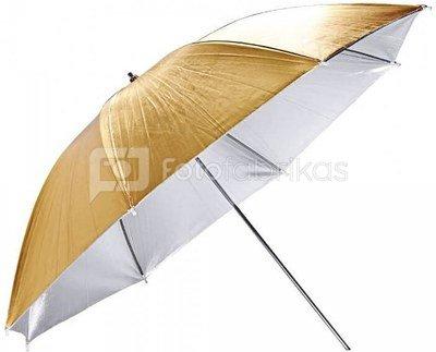 GODOX UB-007 Umbrella Gold/Silver 84cm