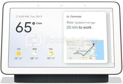 Google Nest Home Hub Assistant, grey