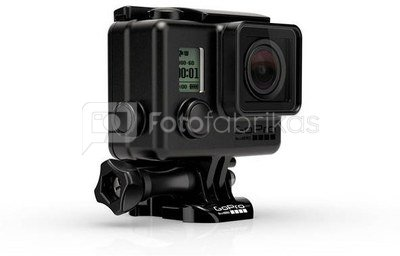 Gopro Blackout Housing juodas korpusas HERO3 ir HERO3+ kameroms