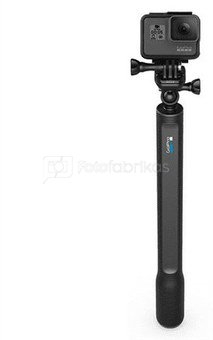 "GoPro El Grande Telescopic Stick AGXTS-001 Length Extended: 38"" / 97 cm Retracted: 15"" / 38 cm"