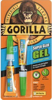 "Gorilla glue ""Superglue Gel"" 2x3g"