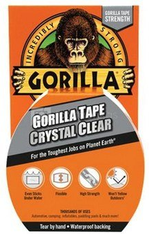 """Gorilla tape """"Crystal Clear"""" 16,4m"""
