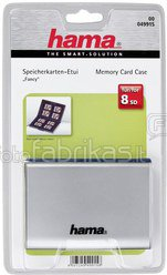 Hama Fancy Card Case SD/MMC silver 49915