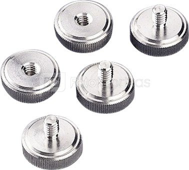 Hama Metal Camera Screws 1/4 (5pcs.) 5124