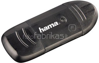 Hama USB 2.0 Card Reader SD anthracite 114731