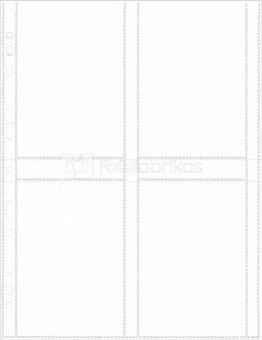 Herma fotophan 10x15 vert. white 250 Sheets 7562