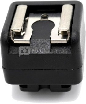 Caruba hotshoe adapter   (middencontact naar X Contact)