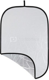Westcott Illuminator Collapsible 2 in 1 Silver/White Bounce Reflector (121.9 x 182.8cm)