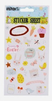 """instax stickers set """"Happy Easter"""""""