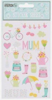 "instax lipdukų rinkinys ""Mothers Day"", lipdukai Motinos dienos proga"