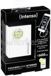 Intenso Powerbank Softtouch ST6600 white 6600 mAh