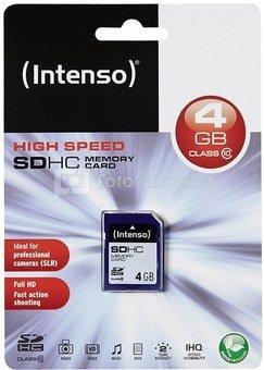 Intenso SDHC 4GB Class10 3411450