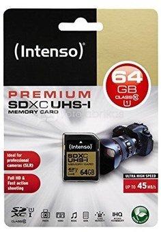 Intenso SDHC 64GB UHS-I 3421490