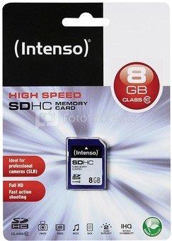 Intenso SDHC 8GB Class10 3411460