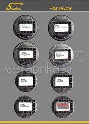 INTERFIT tvirtinimas SGM600 šviesdėžėi STR104 ir blykstėi Nikon SB900