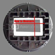 INTERFIT tvirtinimas SGM700 šviesdėžėi STR104 ir blykstėi CANON EX580II