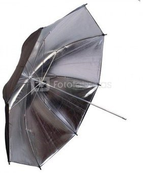 Interfit INT396 skėtis Juodas/Sidabrinis 109 cm