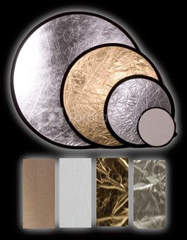 "INTERFIT atšvaitas 42"" (107cm) Silver/Gold INT248"