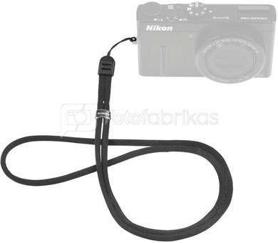 Kaiser Camera Carrying Cord textile black