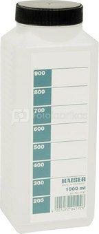 Kaiser Chemical Storage Bottle 1000ml white 4192