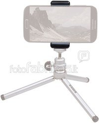 Kaiser Smartphone Mount black with 2 tripod sockets 6015