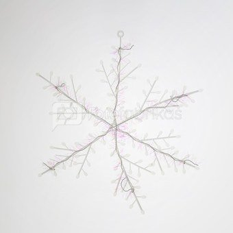 Kalėdinės dekoracijos Snaigės 3 vnt. HR16327 SAVEX KLD