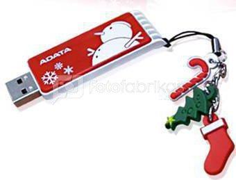 Kalėdinis A-data USB raktas 4GB