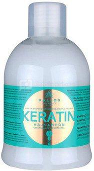 Kallos Keratin Shampoo 1000ml W Cosmetic