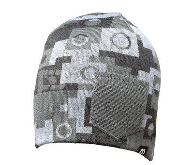 Kepurė - Beanie WINTER - Gray Camouflage