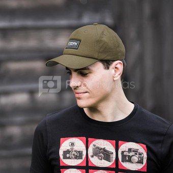 Kepurė su snapeliu Cooph Graychart Original (ruda)
