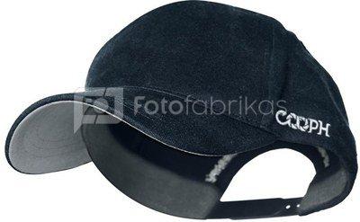 Kepurė su snapeliu Cooph Graychart Pure (juoda)